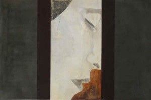 Meditative / Fresco Portrait