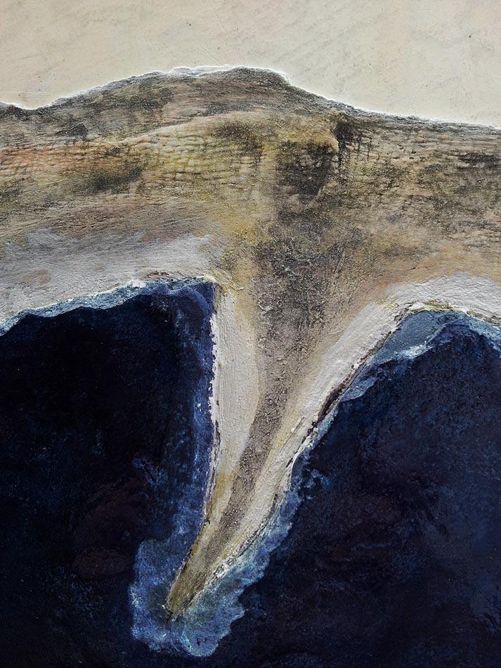 peinture paysage - detail