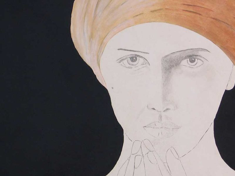 Fresque Portrait